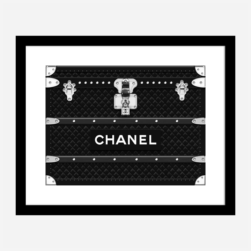 Chanel Trunk Art Print
