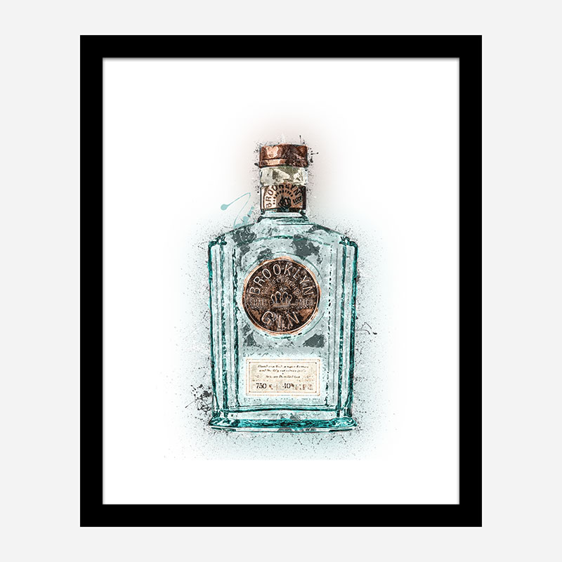 Brooklyn Gin Art Print