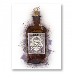 Monkey 47 Gin Art Print