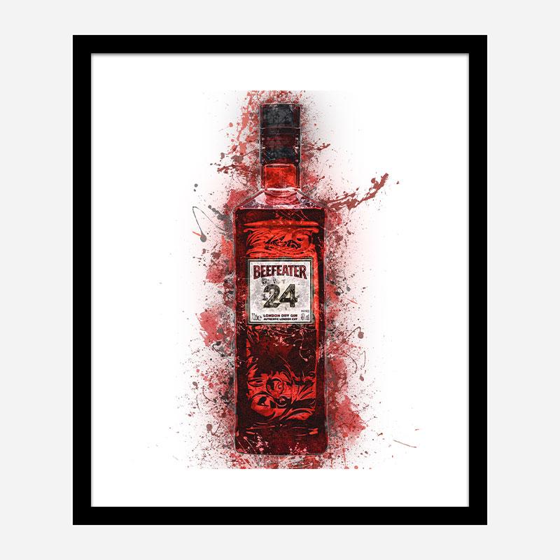 Beefeater 24 Gin Art Print
