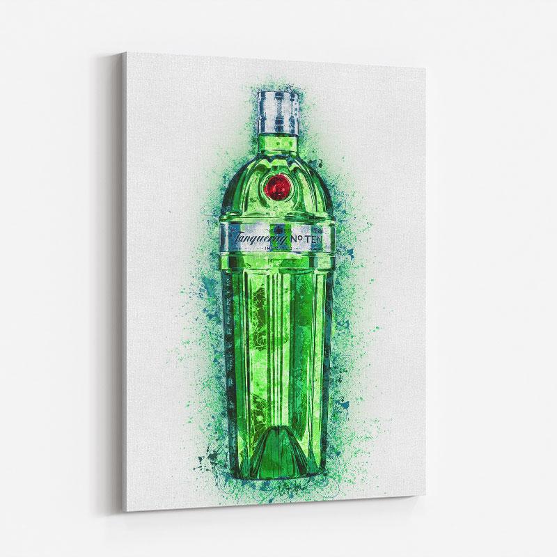 Tanqueray No Ten Gin Art Print