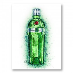 Tanqueray No Ten Gin Art Print