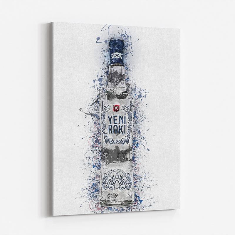 Raki Abstract Art Print