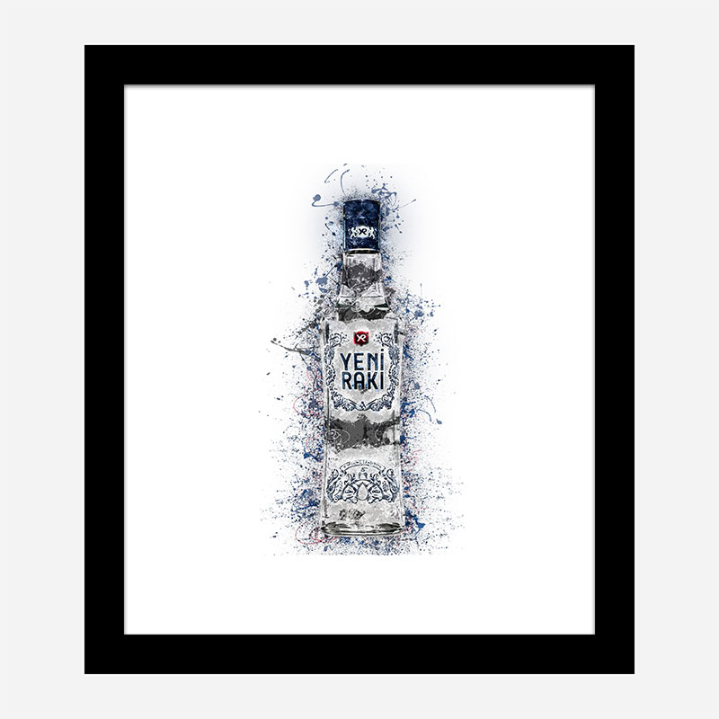 Raki Abstract Art Print
