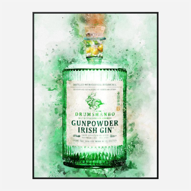 Gunpowder Citrus Irish Gin Art Print
