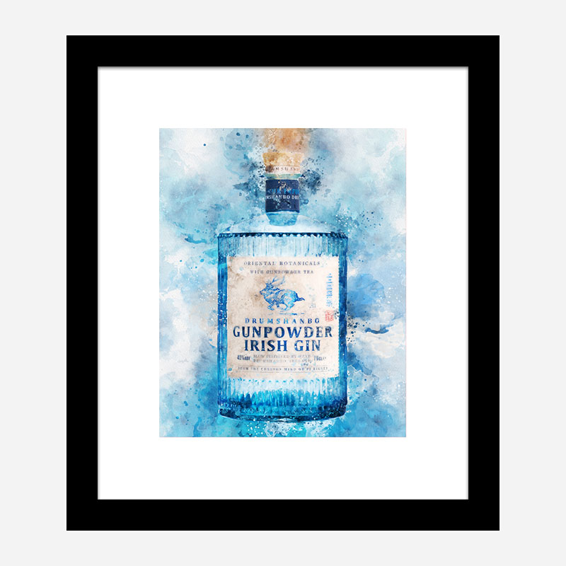 Gunpowder Irish Gin Art Print