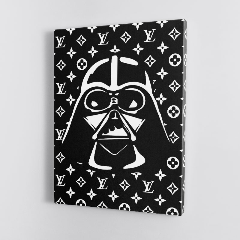 Darth Vader LV Black Wall Art