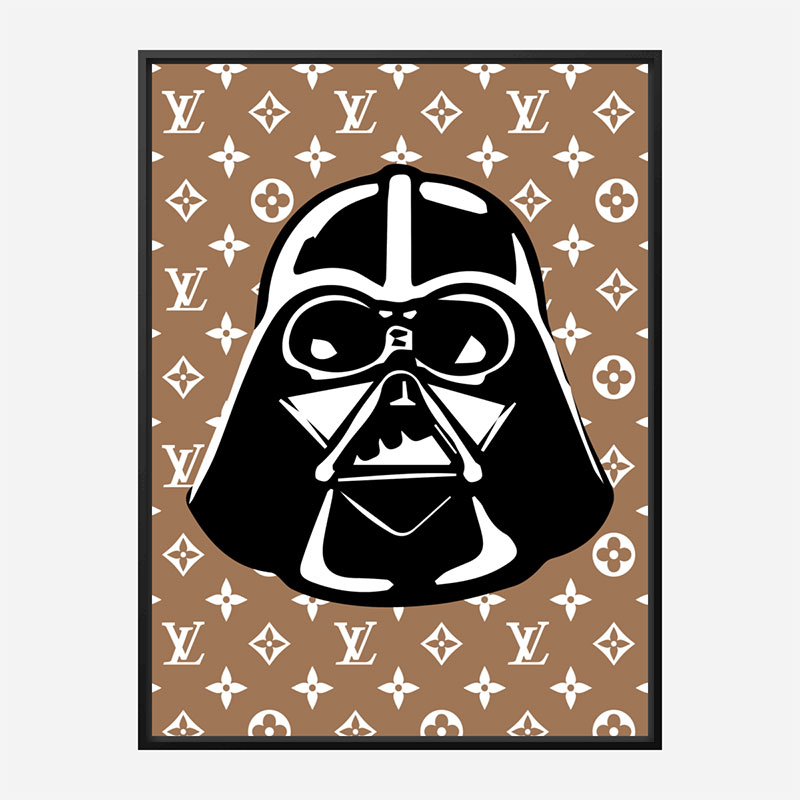 Darth Vader LV Brown Wall Art