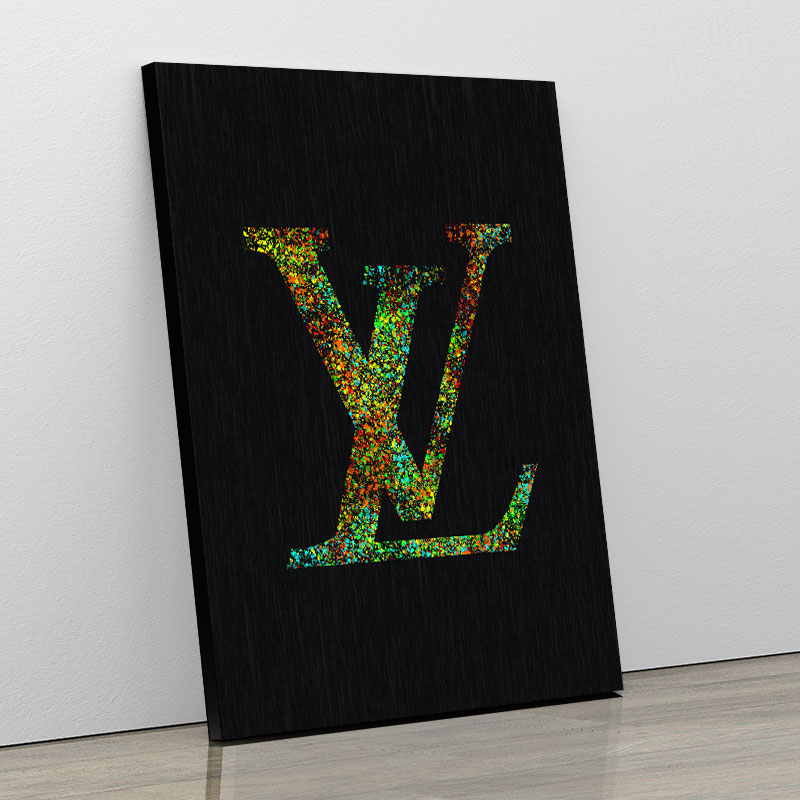 LV Color Explosion Art Print