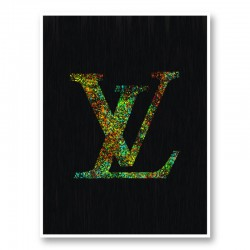 LV Color Explosion Art Print