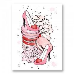 Love Shoes Art Print