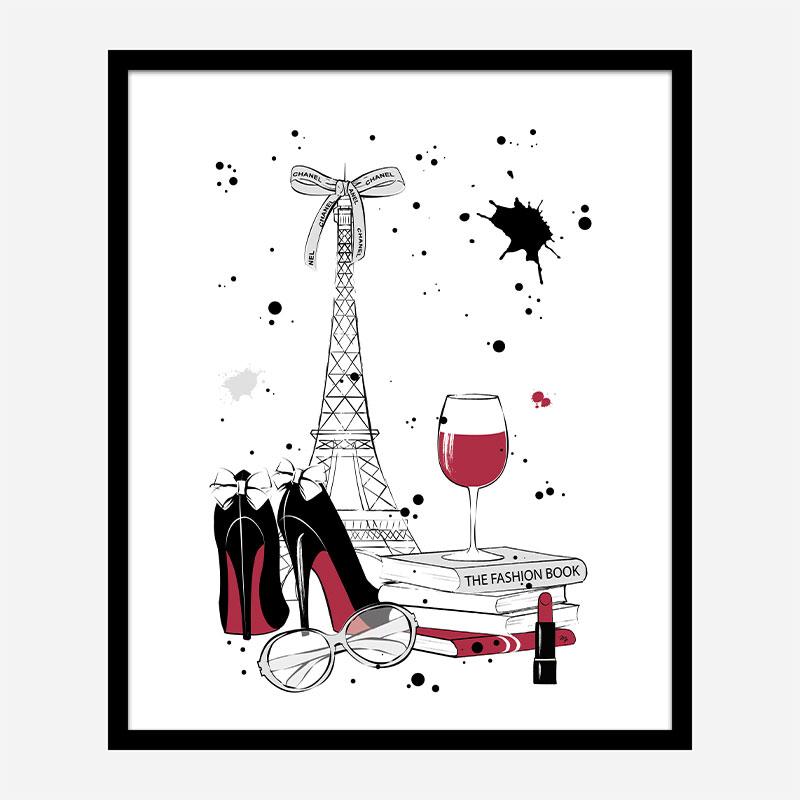 Paris Style Art Print