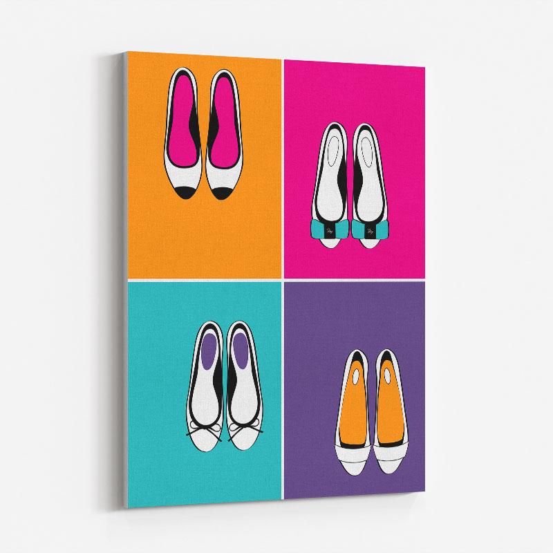 Bold Flats Art Print