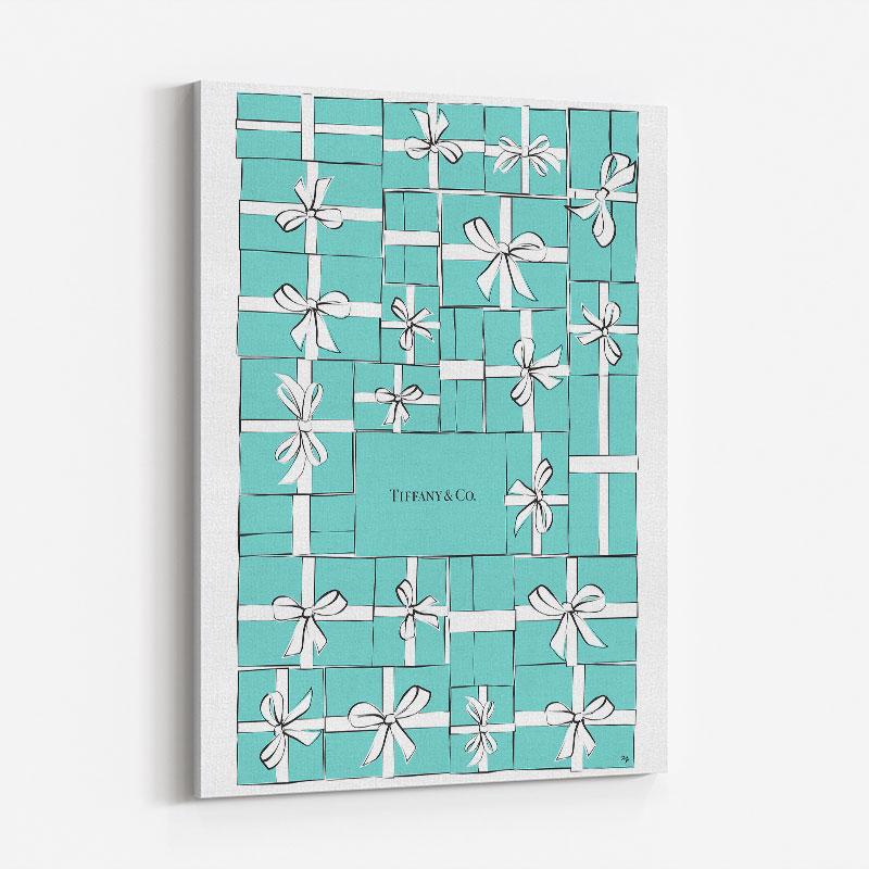 Tiffany Boxes Art Print