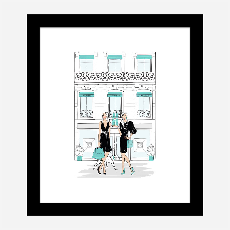 Ladies That Shop Art Print