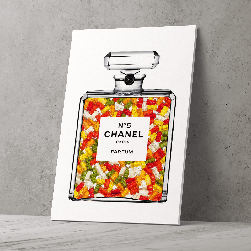 Gummy Bears in Chanel