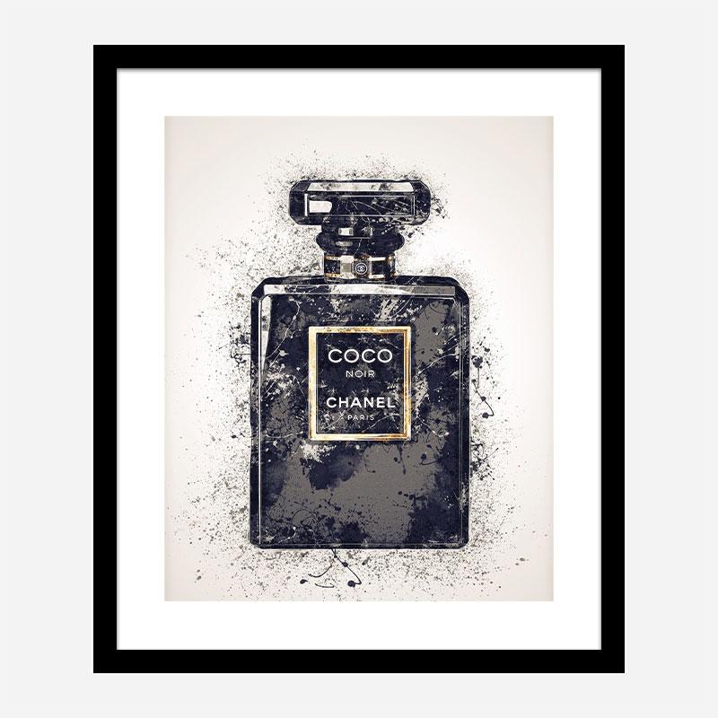 Coco Noir Dark Art Print