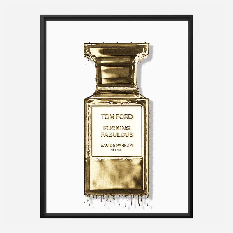 Tom Ford Fu**ing Fabulous Perfume Art Print
