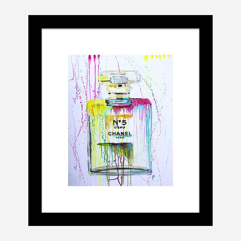 Yellow No 5 Art Print