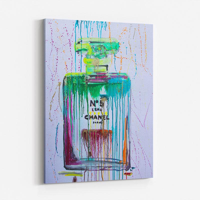 Green No 5 Art Print