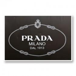 Prada Sign Wall Art