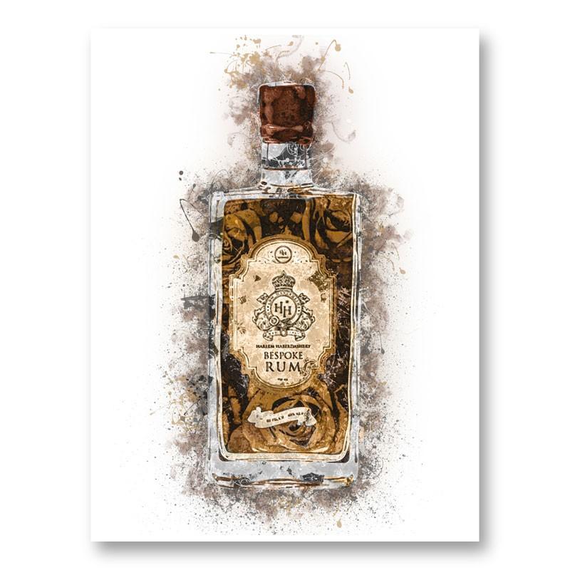 HH Bespoke Rum Abstract Art Print