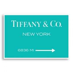 Tiffany & Co. Sign Wall Art