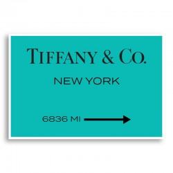 Tiffany & Co. Sign Wall Art