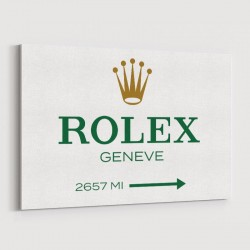 Rolex Sign Wall Art