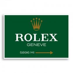 Rolex Green Sign Wall Art