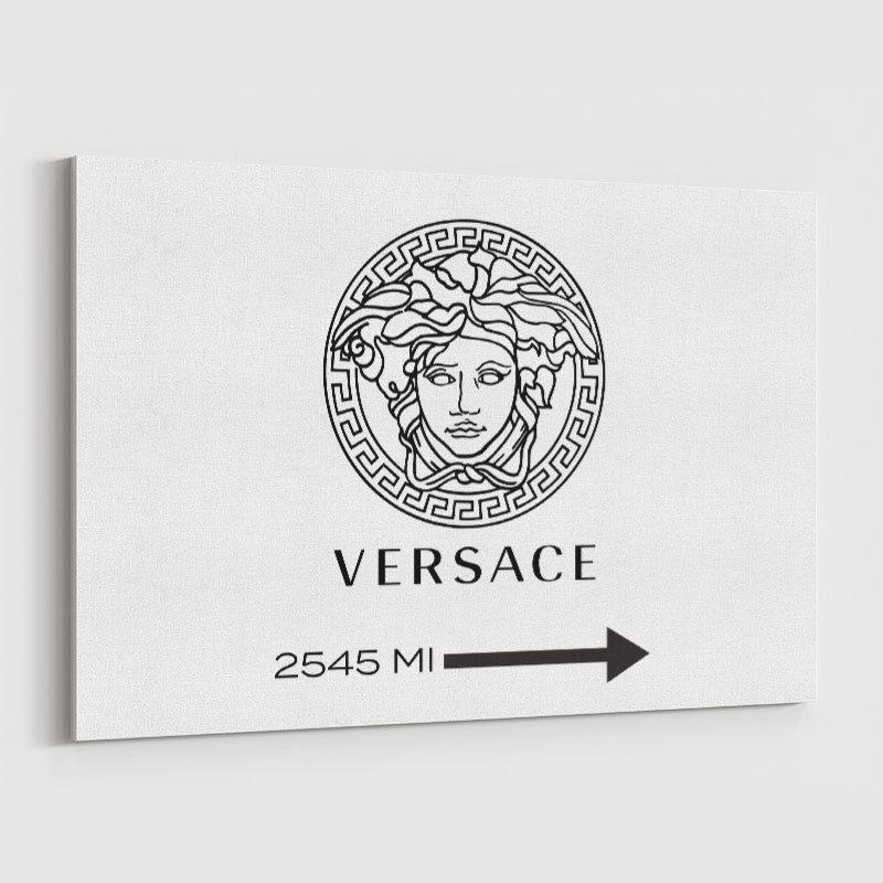 Versace Sign Wall Art