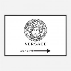 Versace Sign Wall Art