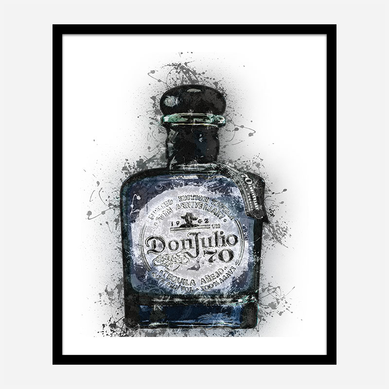 Don Julio 70 Tequila Abstract Art Print