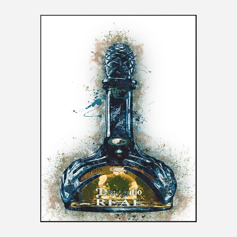 Don Julio Real Tequila Abstract Art Print