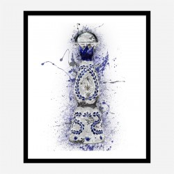 Clase Azul Reposado Tequila Abstract Art Print
