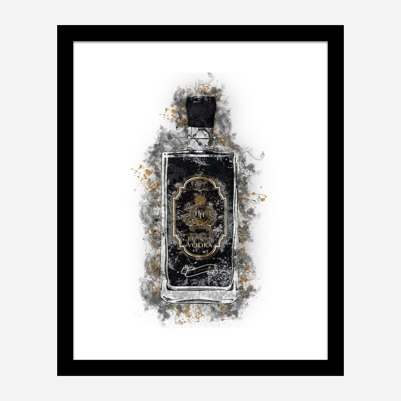 HH Bespoke Vodka Abstract Art Print