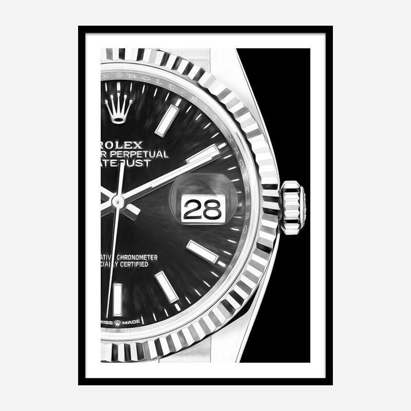 Date Adjust Close Art Print