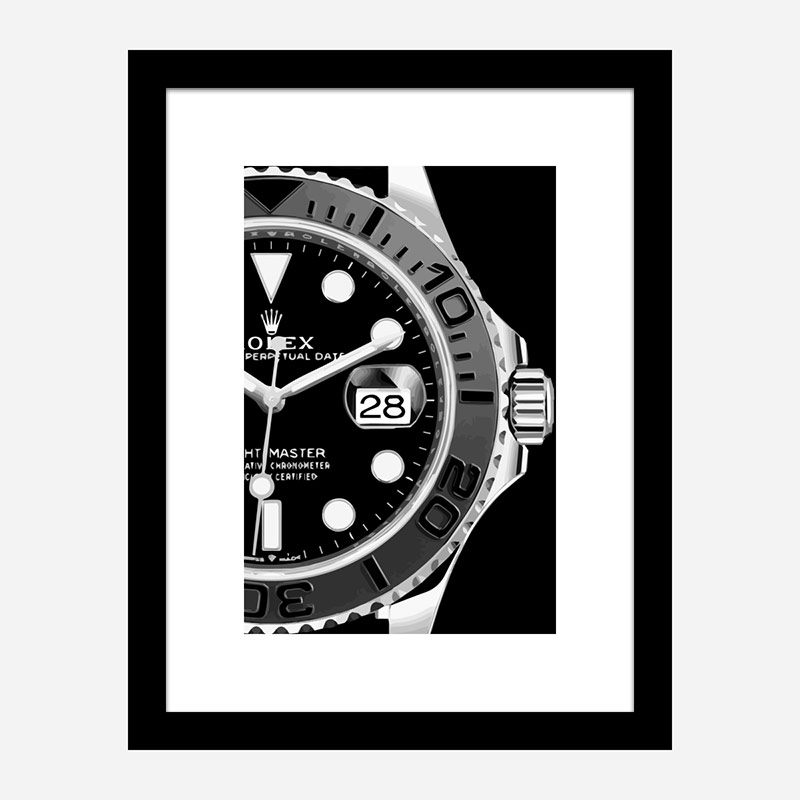 Yacht Master Close Art Print