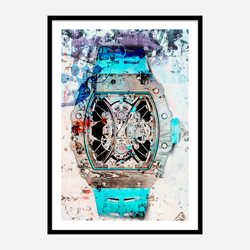 Richard Mille RM53 Abstract Art Print