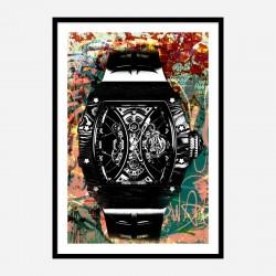 Richard Mille Watch Abstract Art Print