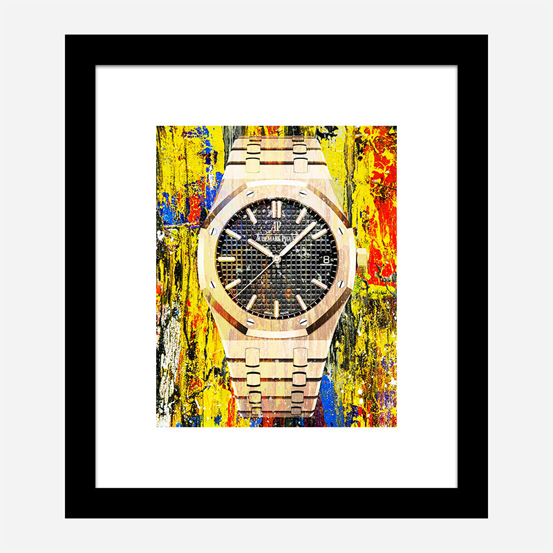 AP Oak Gold Color Pop Art Print