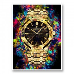 AP Oak Gold Pop Art Print