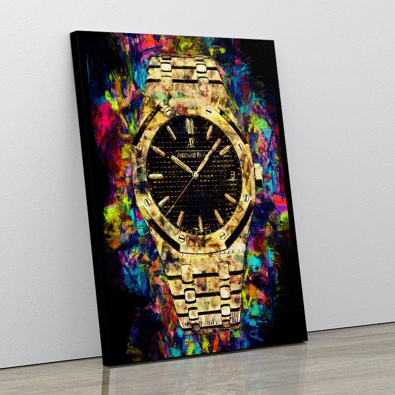 AP Oak Gold Pop Art Print