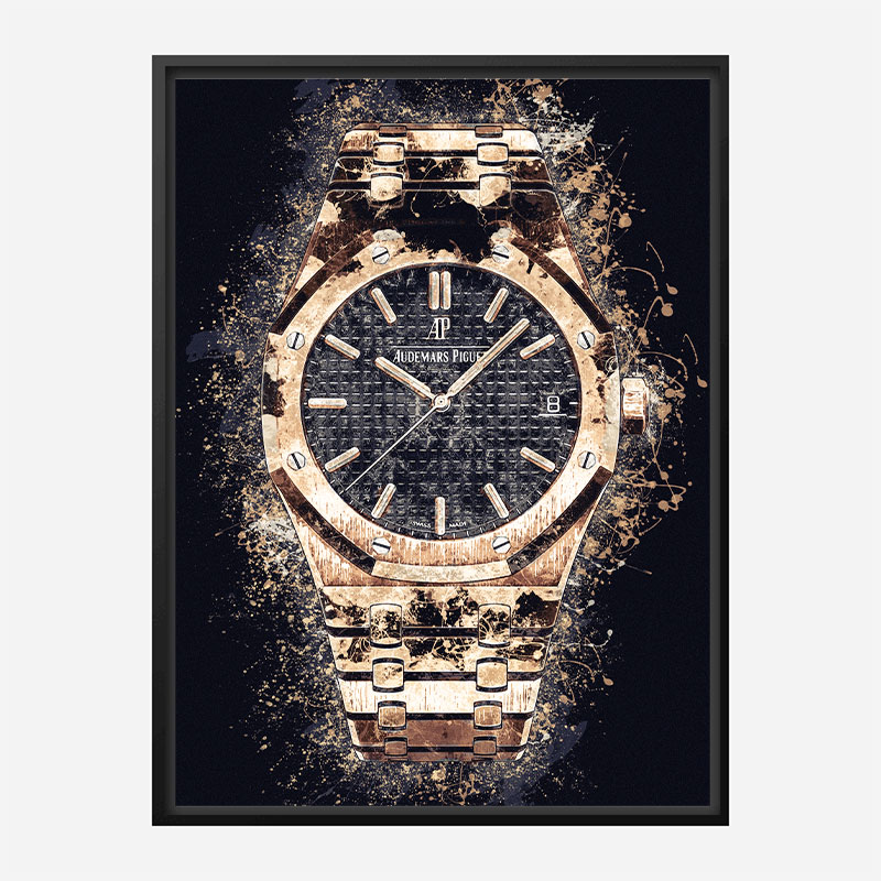 AP Royal Oak Gold Explosion Art Print