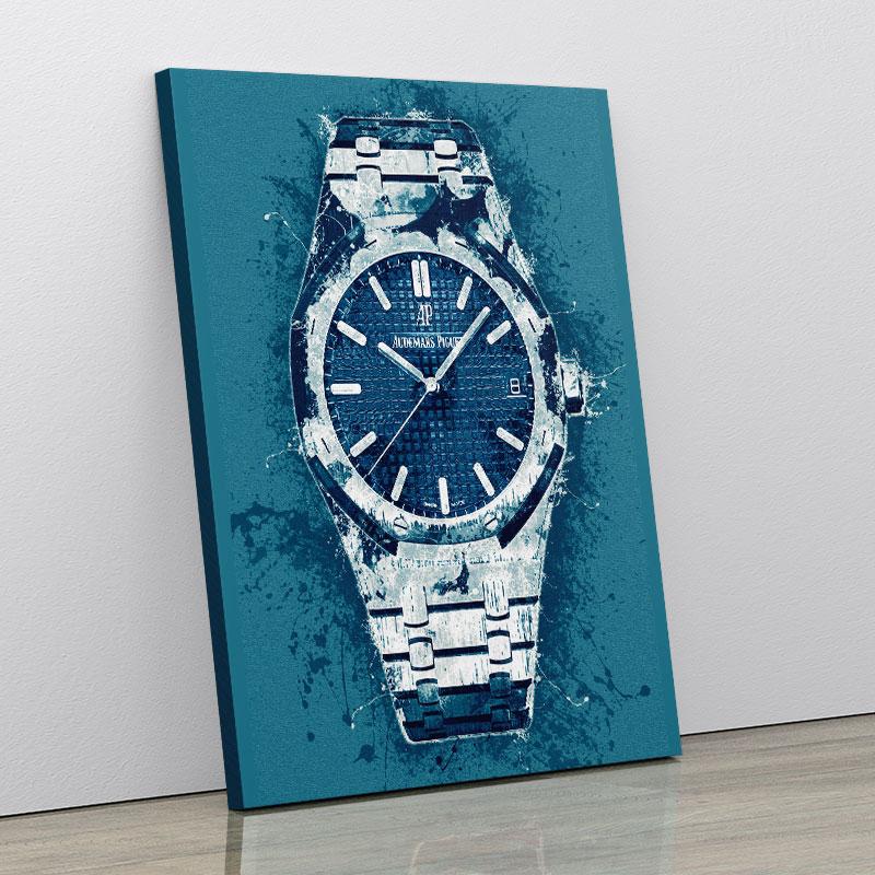 AP Oak Blue Pop Art Print