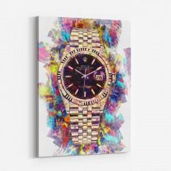 Rolex Datejust Art Print
