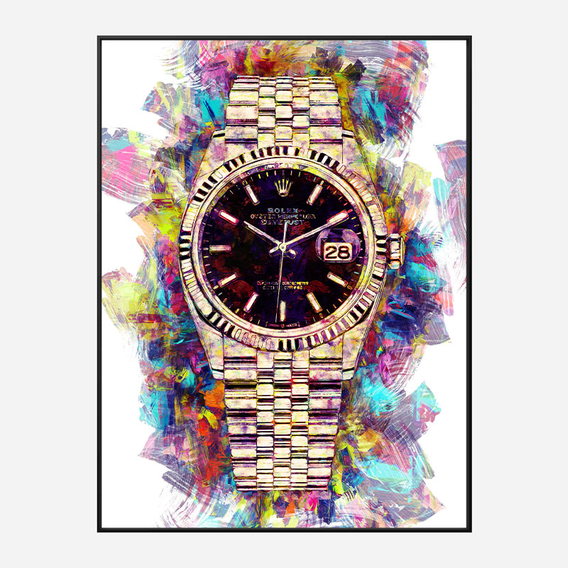 Rolex Datejust Art Print