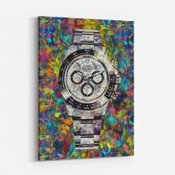 Rolex Daytona Abstract Art Print