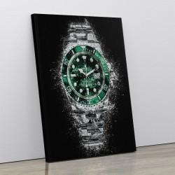 Rolex Hulk Abstract Art Print