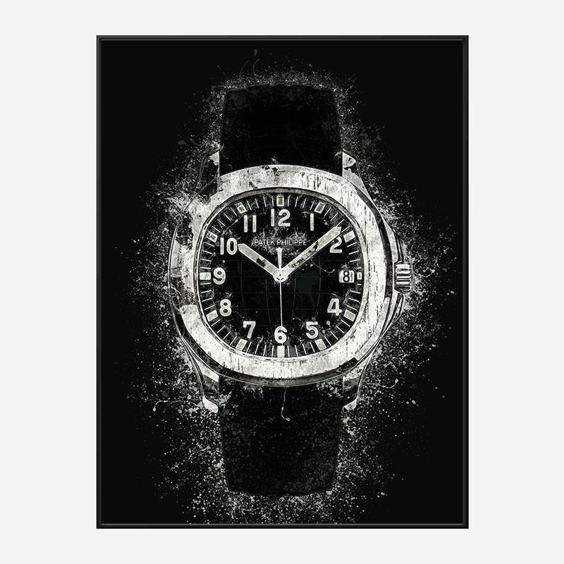 Patek Aquanaut Abstract Art Print